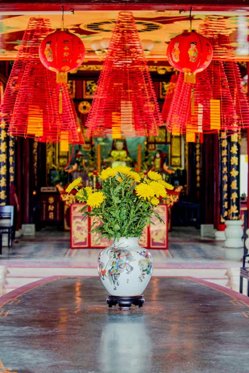 Chinese Temples in Hoi An Vietnam