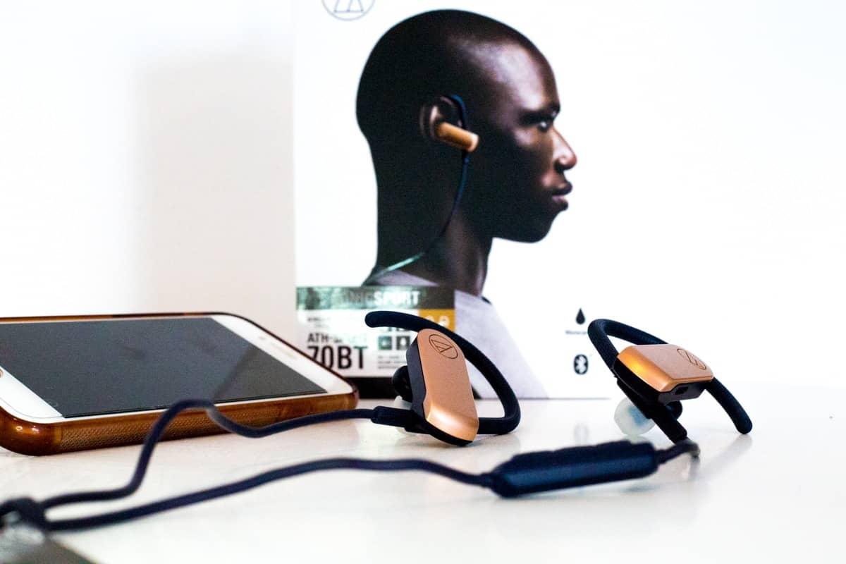 audio-technica ATH-SPORT70BT headphones