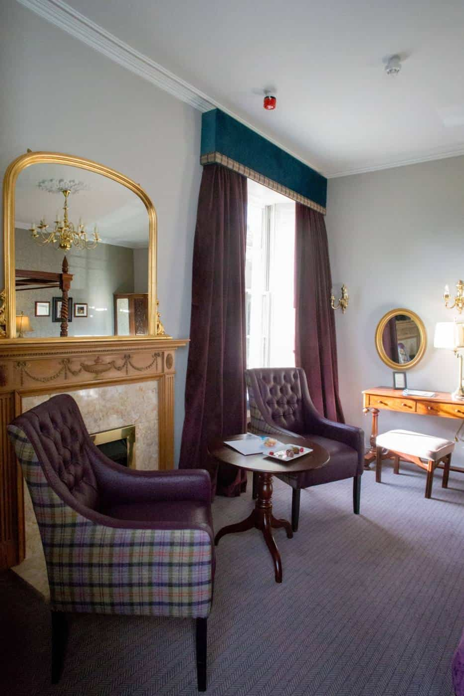 Banchory Lodge haunted room Aberdeenshire Scotland