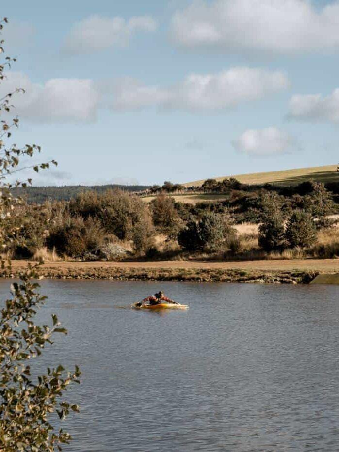 Knockburn Loch Kayaking Aberdeenshire Scotland