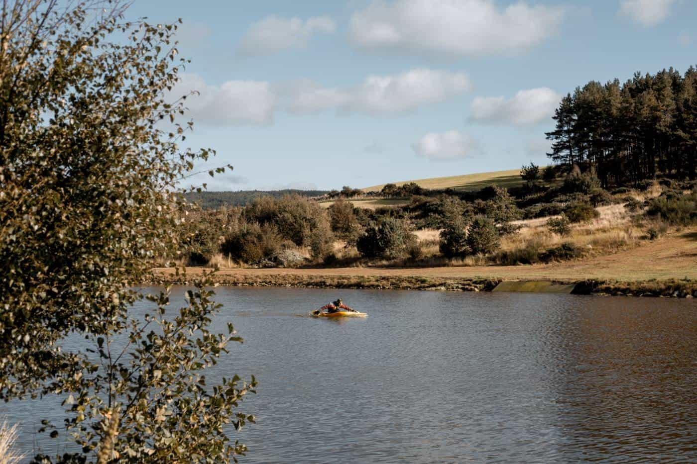Knockburn Loch Kayaking Aberdeenshire Scotland