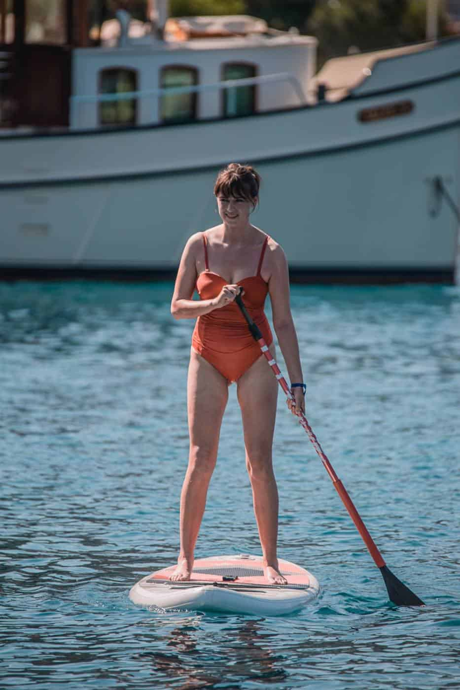 Paddleboarding in Marmaris Turkey