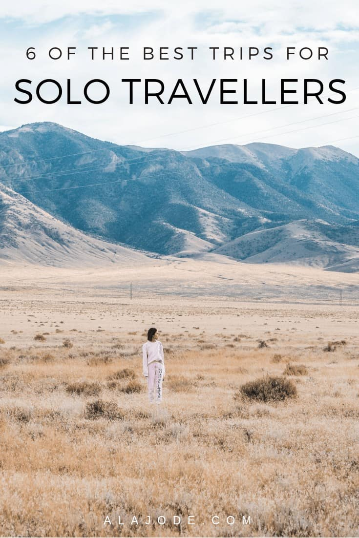 the best solo trips for solo travellers