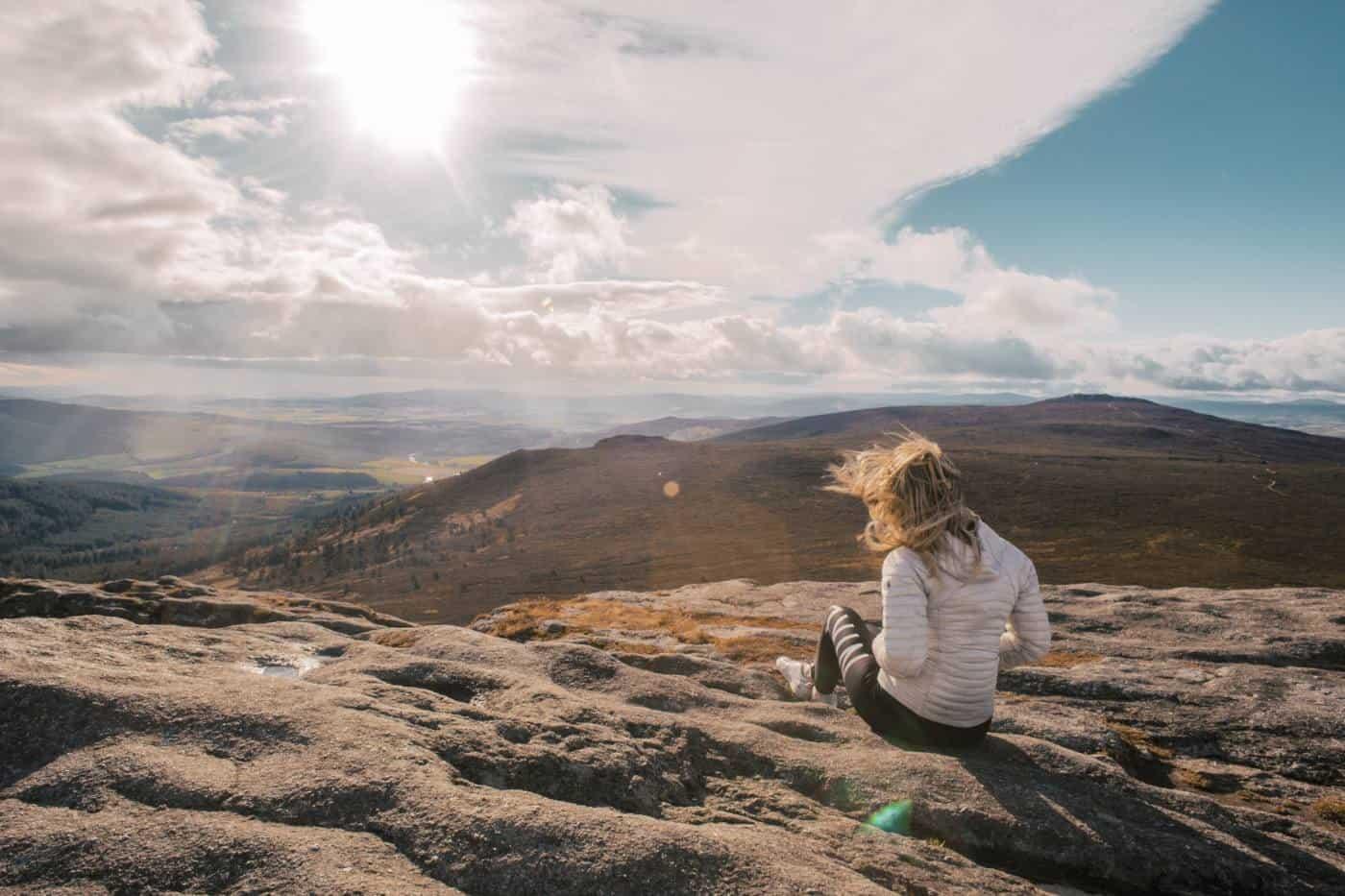 Aberdeenshire Bennachie hike