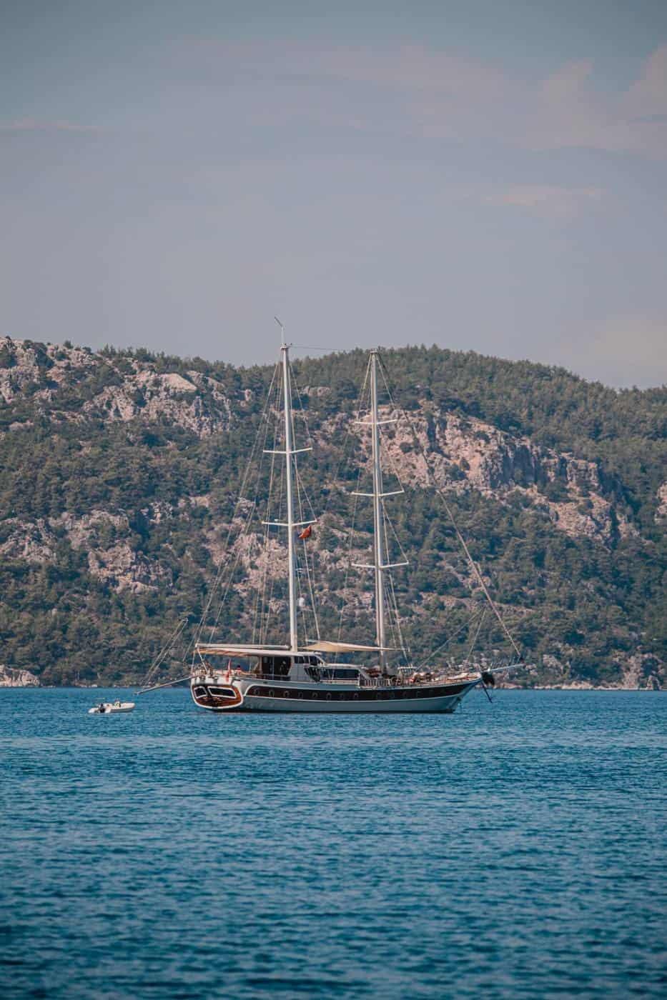Boat in Marmaris Turkey