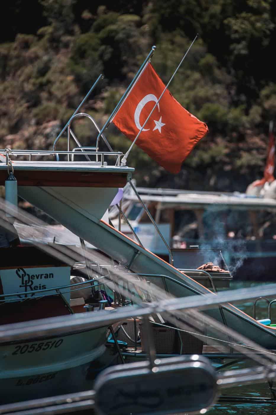 Dalyan river cruise in Marmaris Turkey