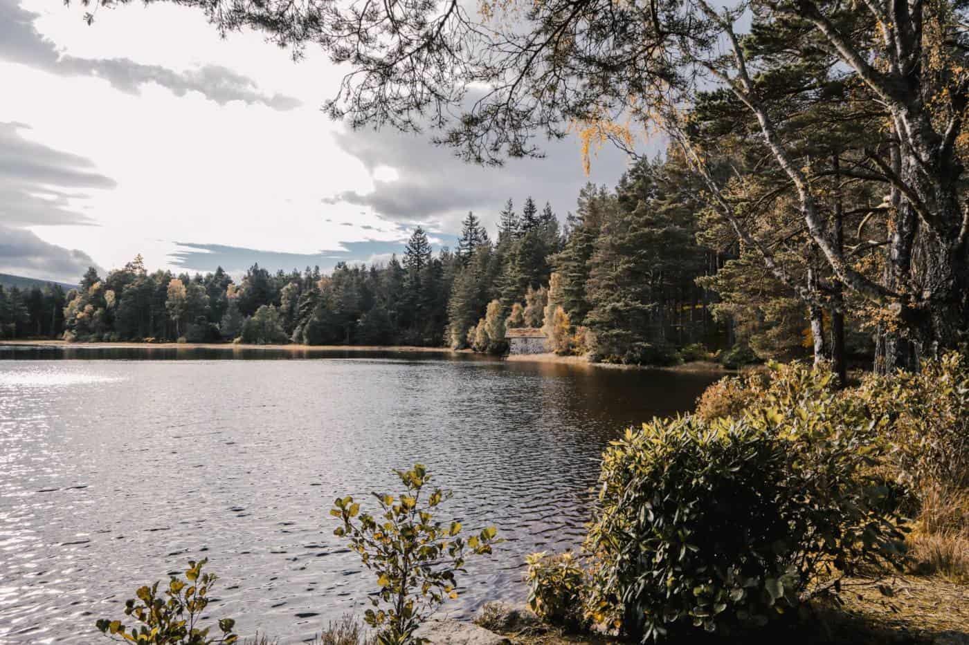 Glen Tanar estate in Aberdeenshire Scotland