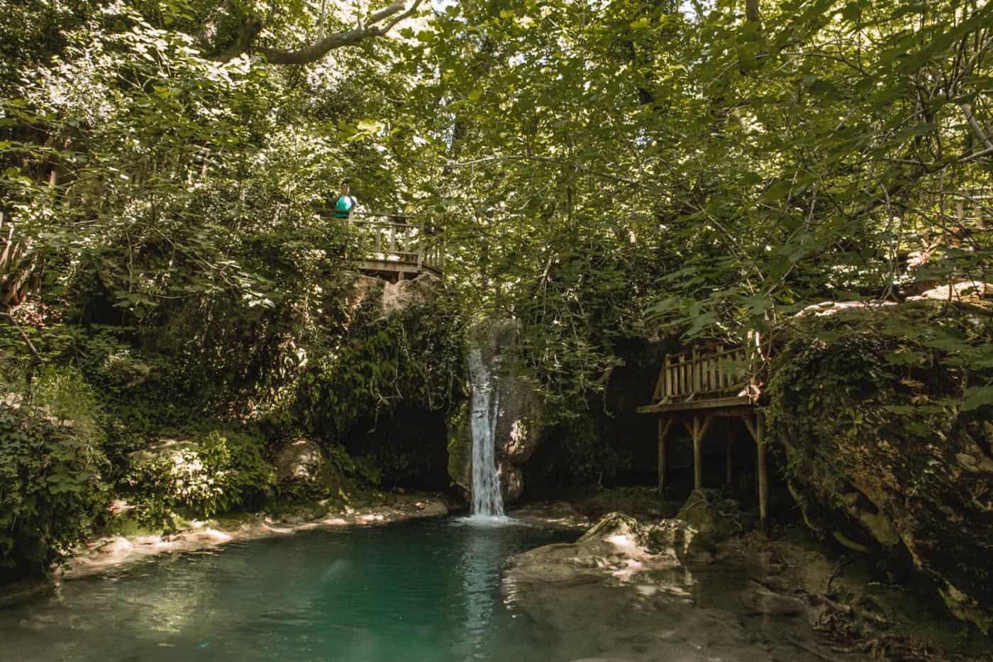 Waterfall in Marmaris Turkey