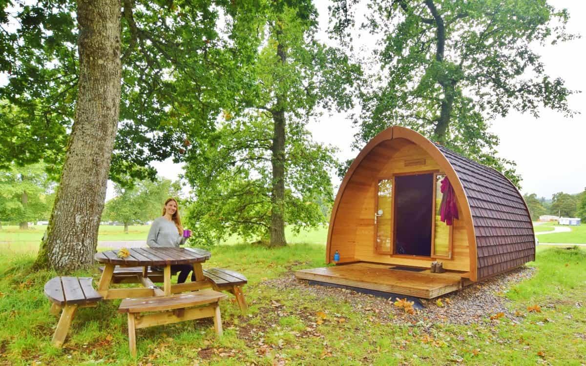 Blair Atholl Camping Pod