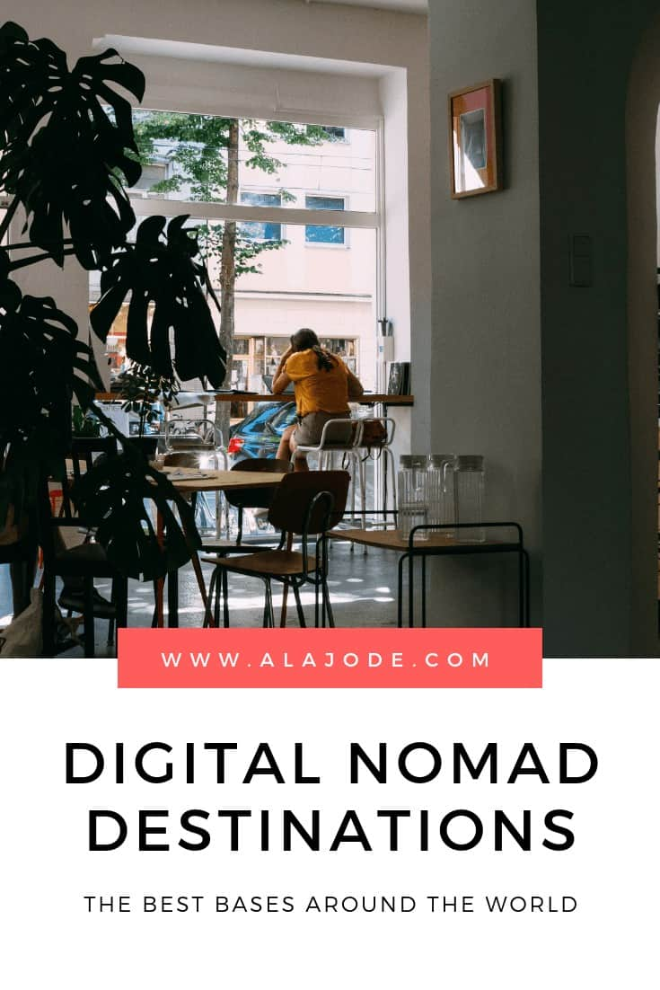 DIGITAL NOMAD LOCATIONS