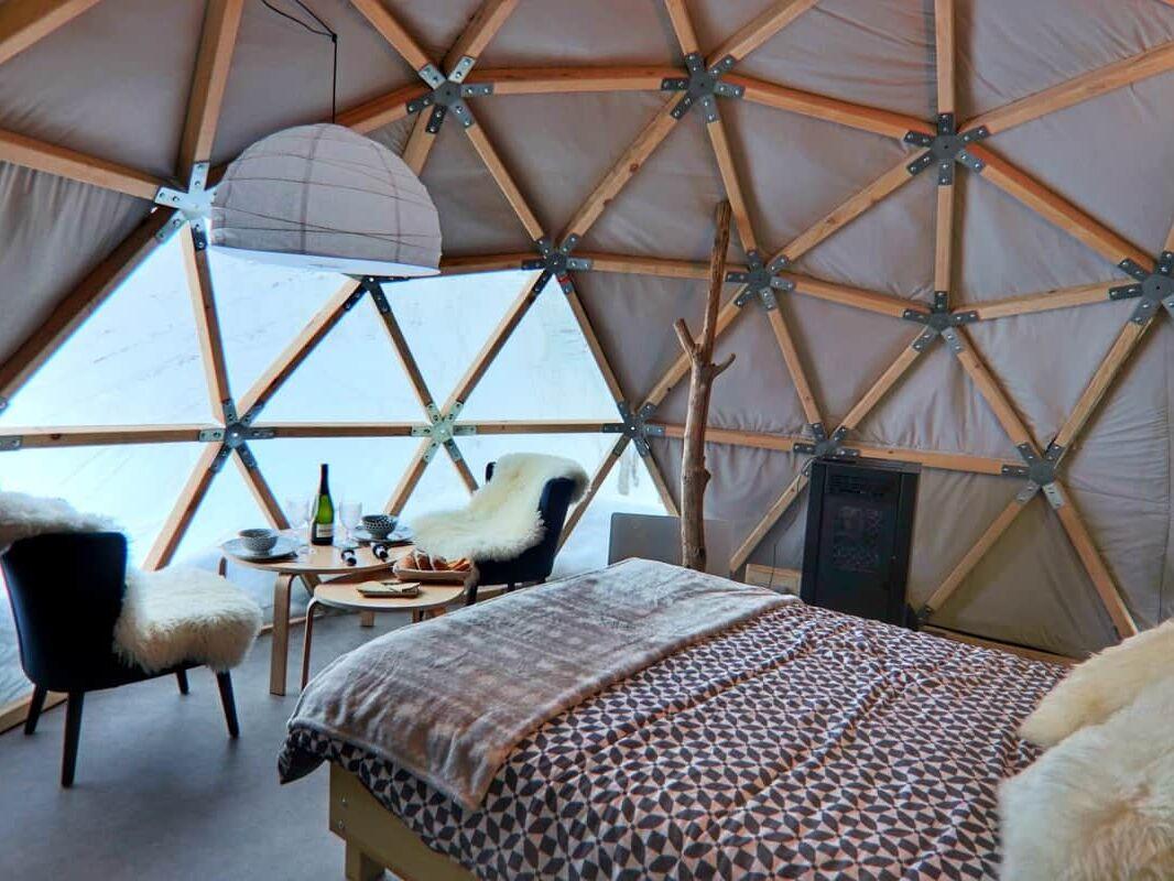 gourette wild dome glamping