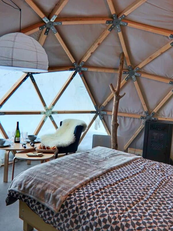 gourette wild dome glamping