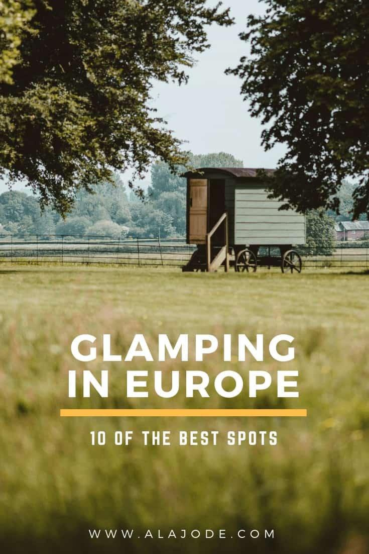 glamping in europe