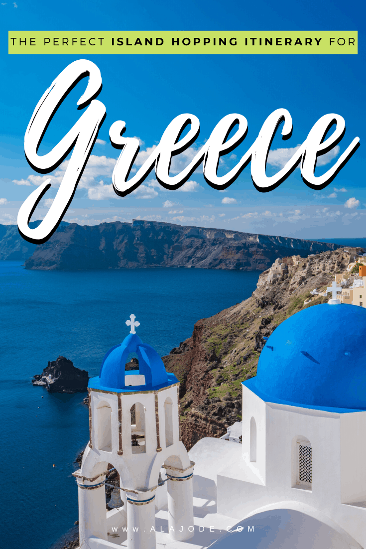 island hopping itinerary for Greece