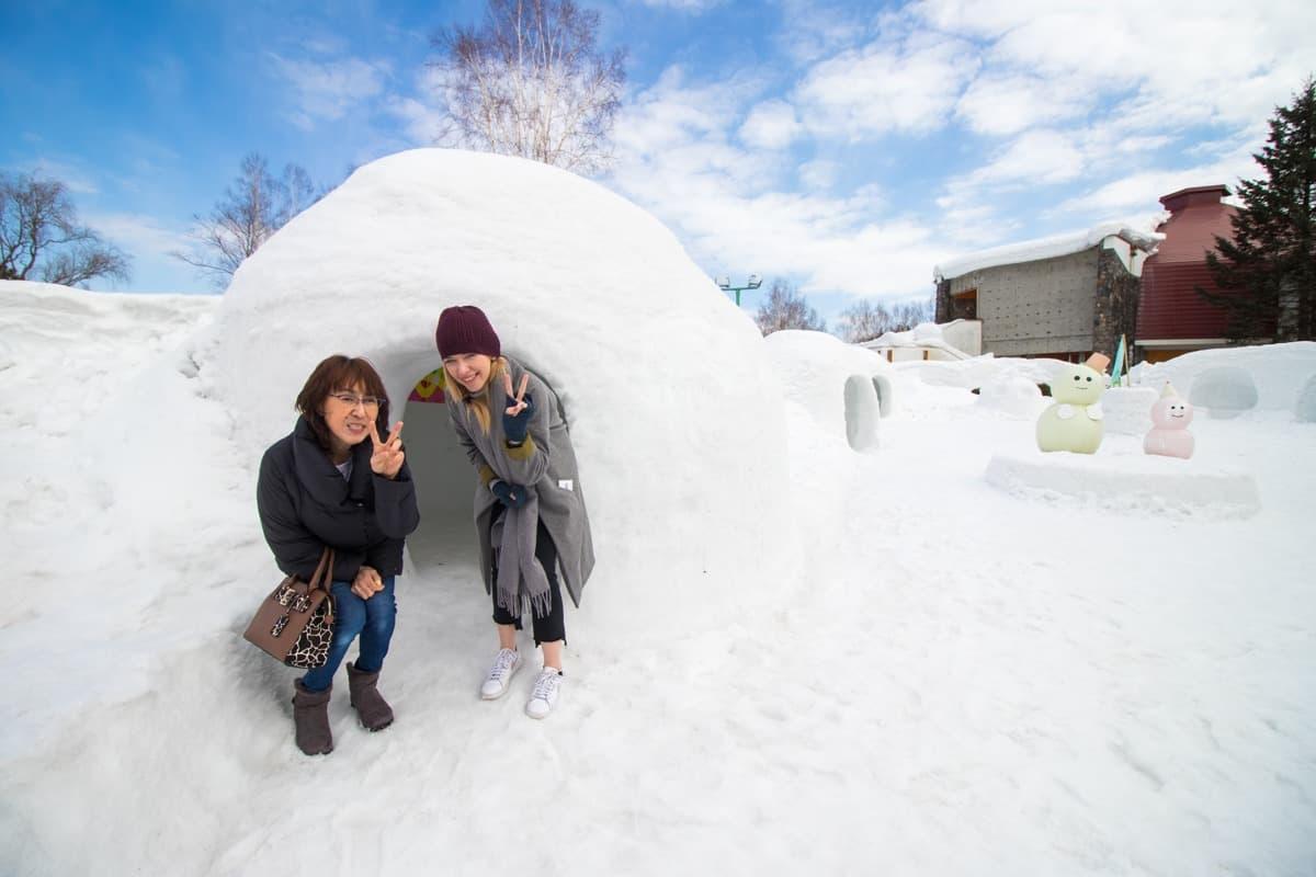 Kamikawa Ice Festival