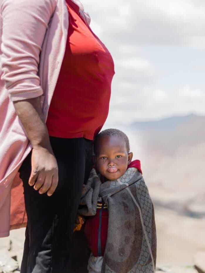 Lesotho mother and child places to visit in January