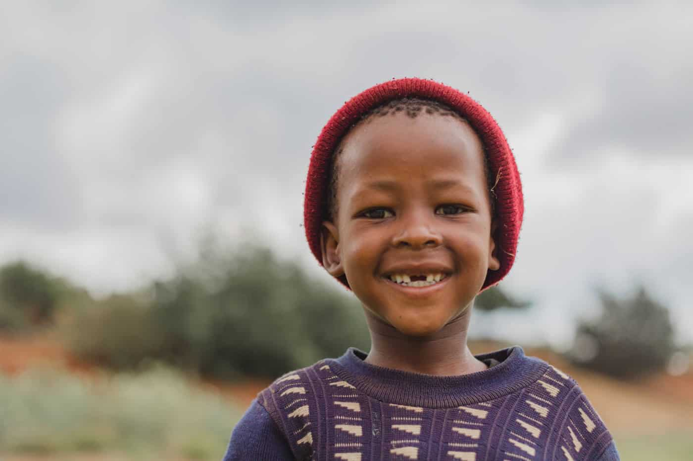 Pictures of Lesotho boy