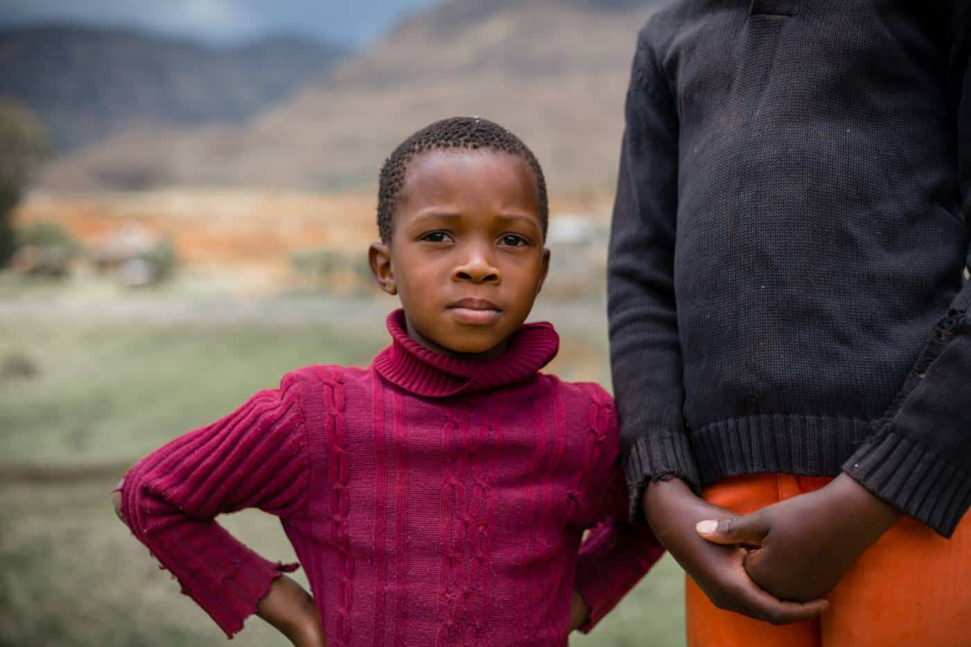 Pictures of Lesotho girl