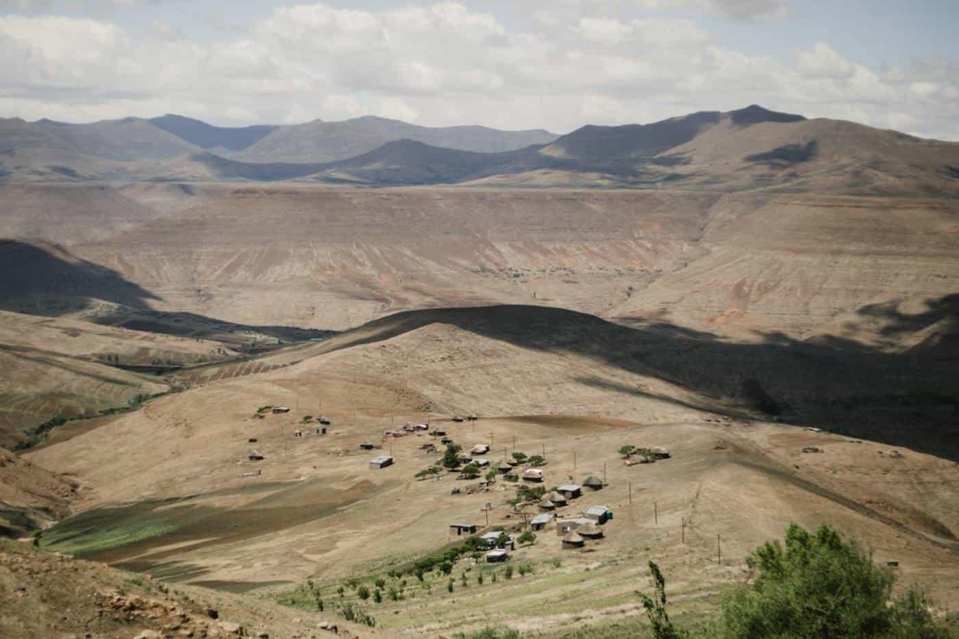 pictures of lesotho landscape