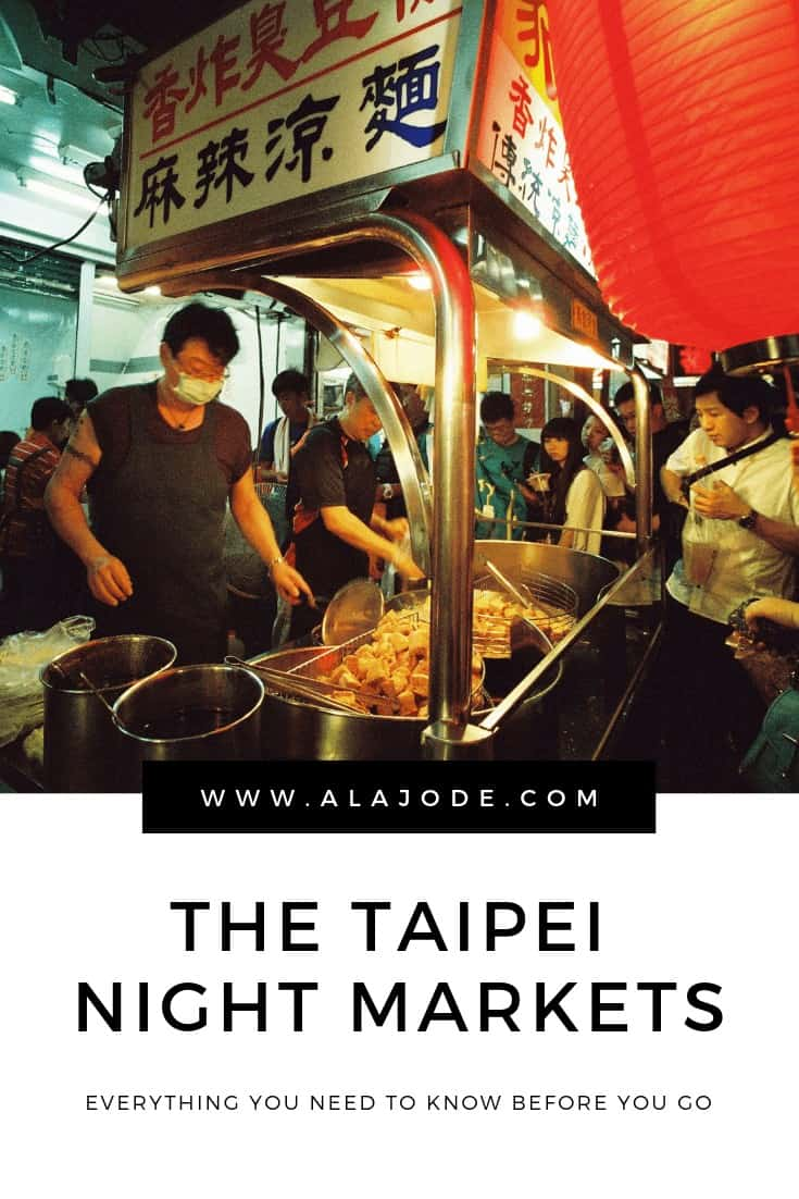 TAIPEI NIGHT MARKET GUIDE