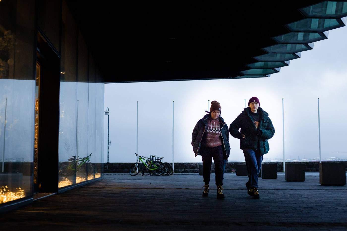 Reykjavik in January Iceland