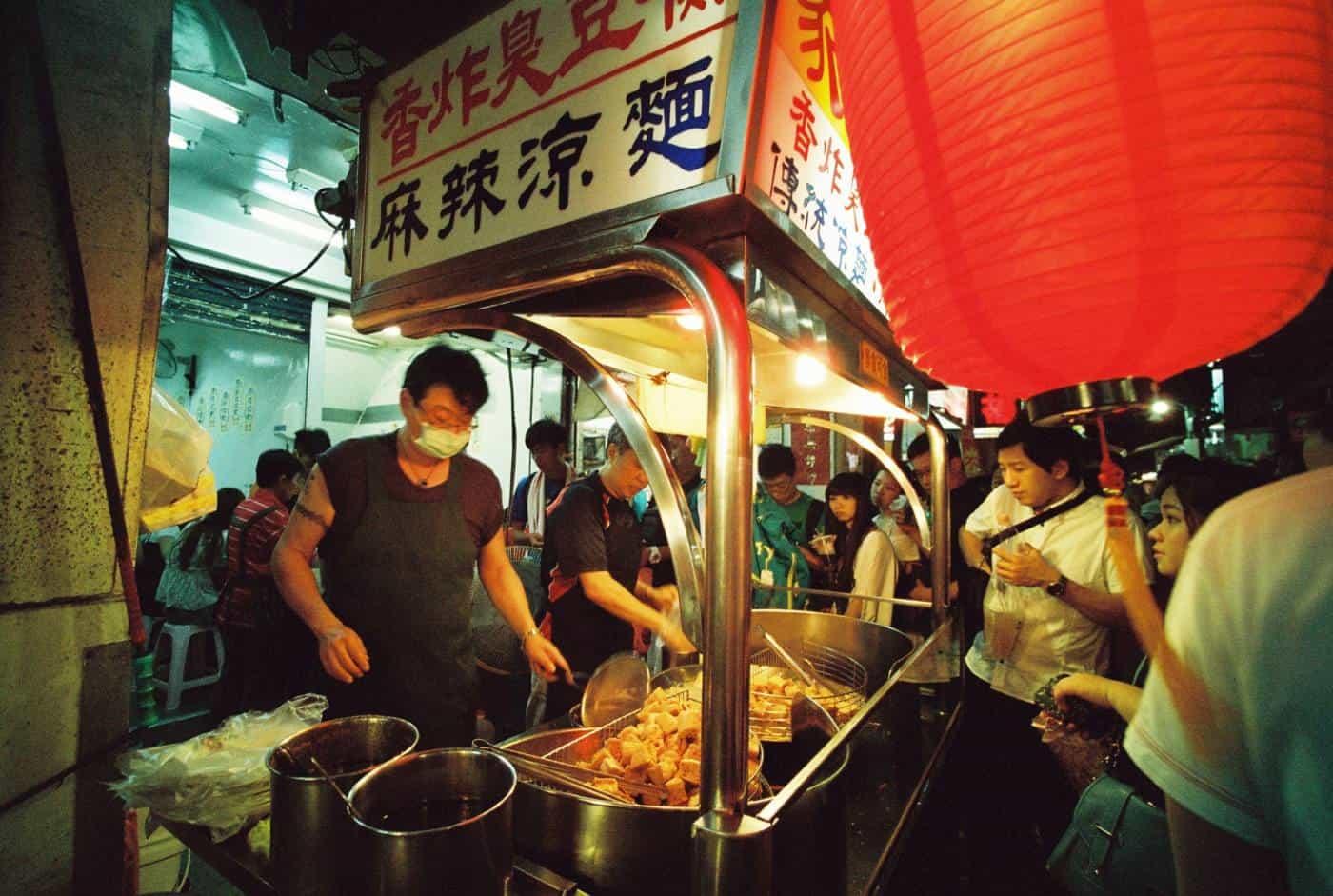 taipei night markets in taiwan