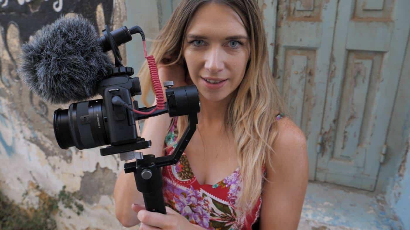 vlogging gear for travel videos