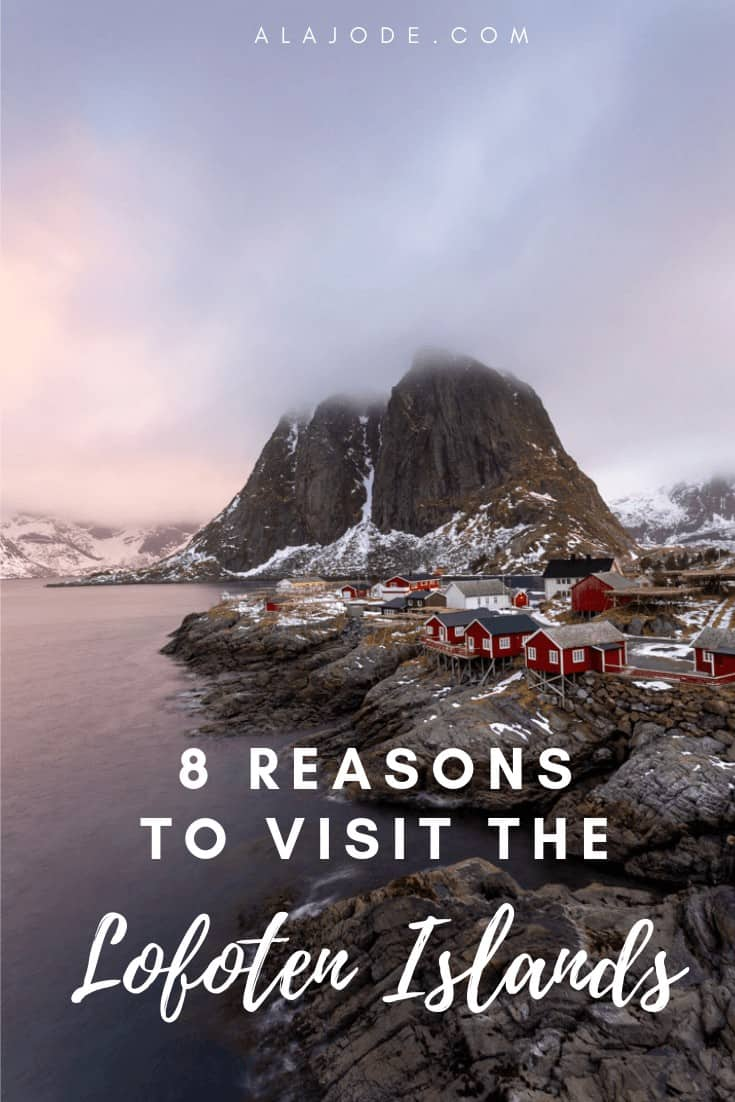 visit the lofoten islands