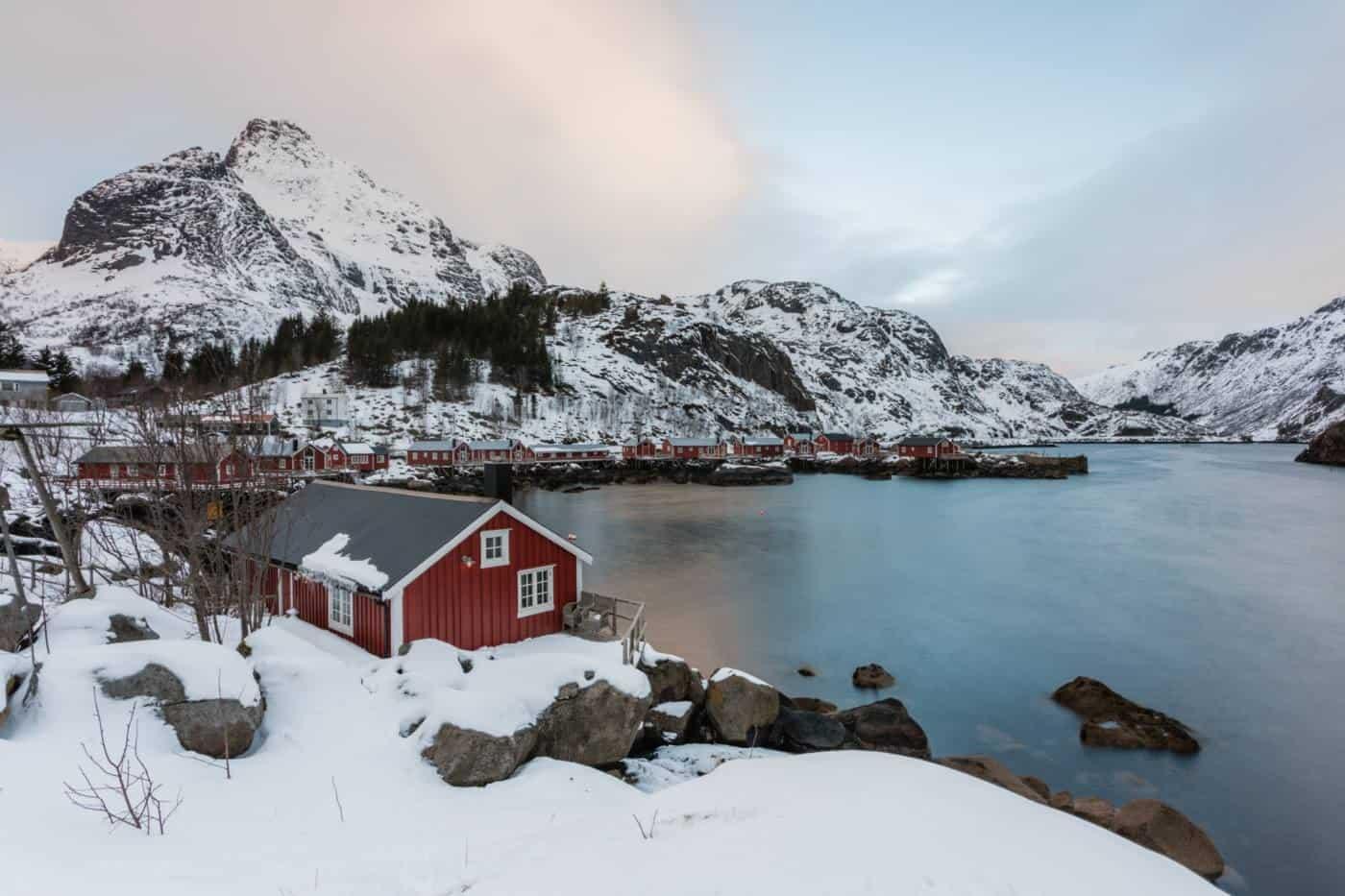Lofoten Islands Nusfjord