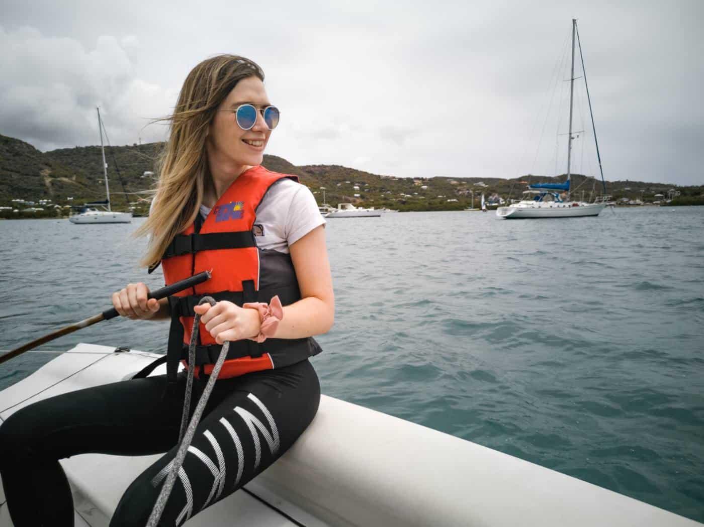 Sailing lessons in Antigua