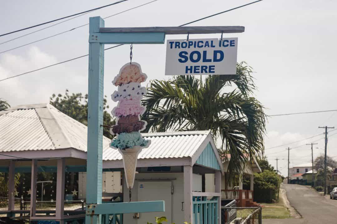 Antigua ice cream