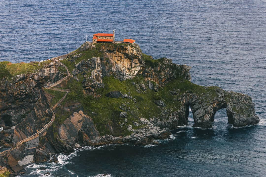 Visiting Dragonstone in Bilbao, Spain, on a Princess Cruise from Southampton