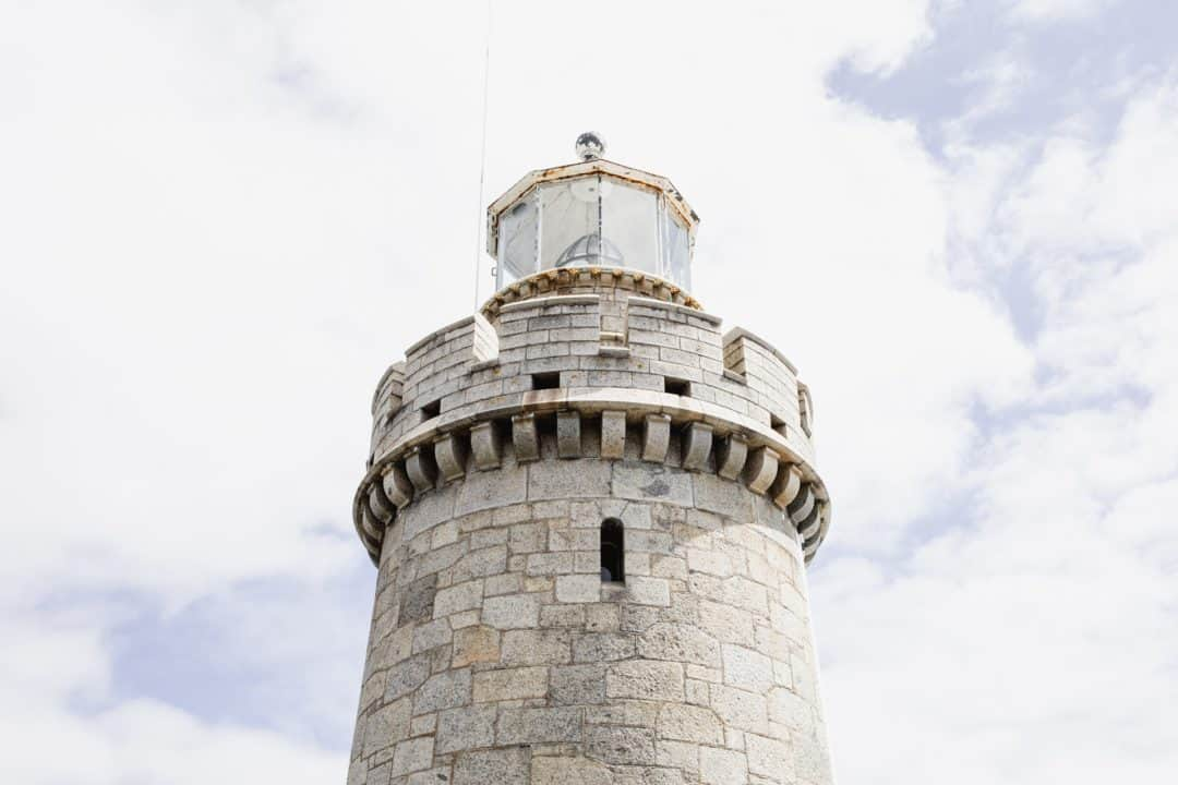 Princess Cruises Guernsey lighthouse