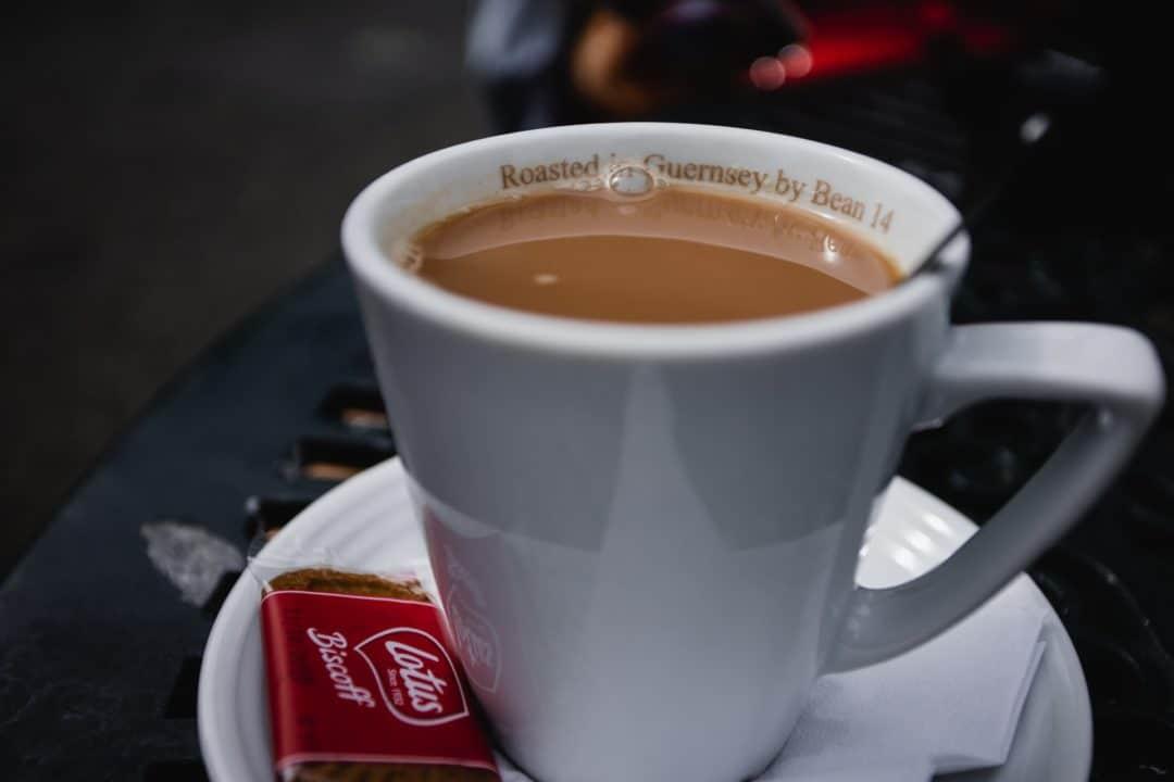 Princess Cruises Guernsey tea in Candie Gardens