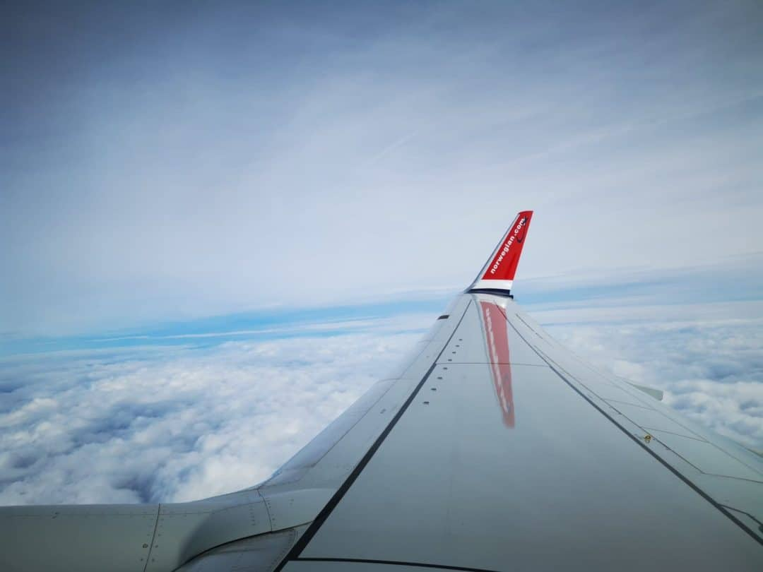Norwegian plane wing