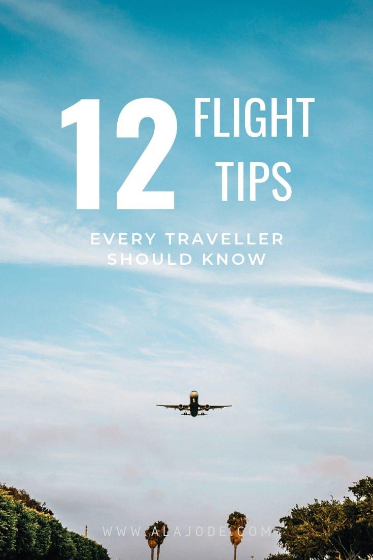 flight tips from a full time traveller