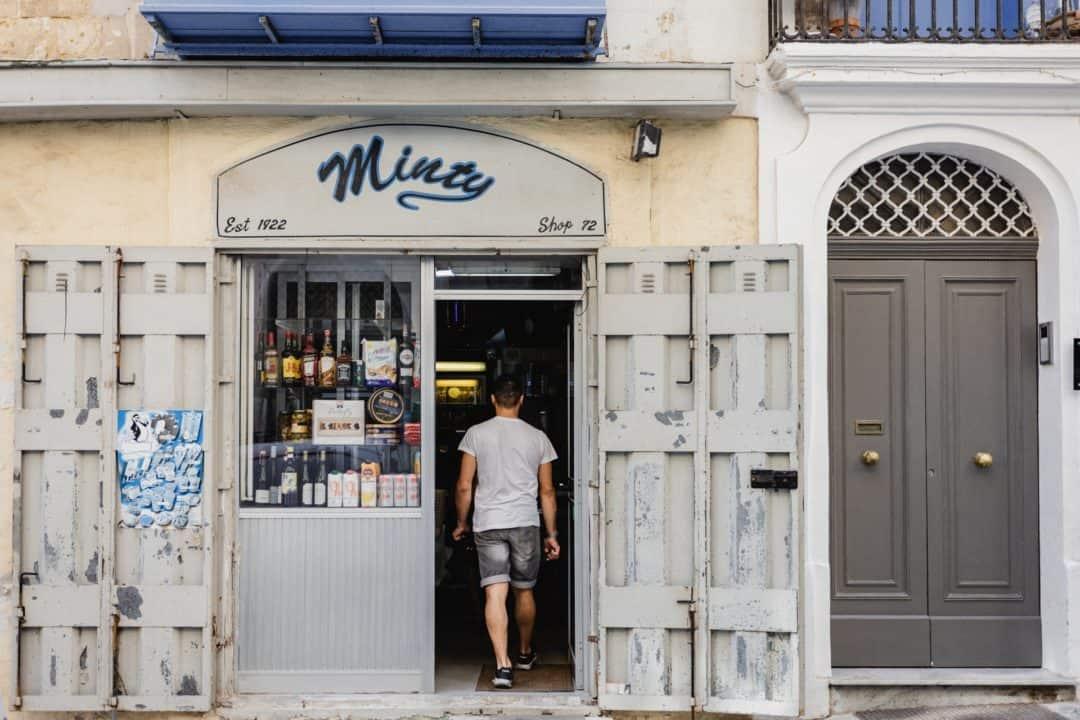 A shop in Valletta Malta