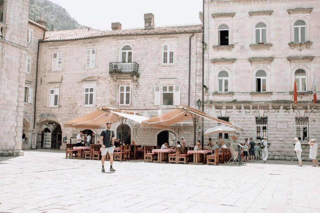 Pizzeria Sara restaurant in Kotor Montenegro
