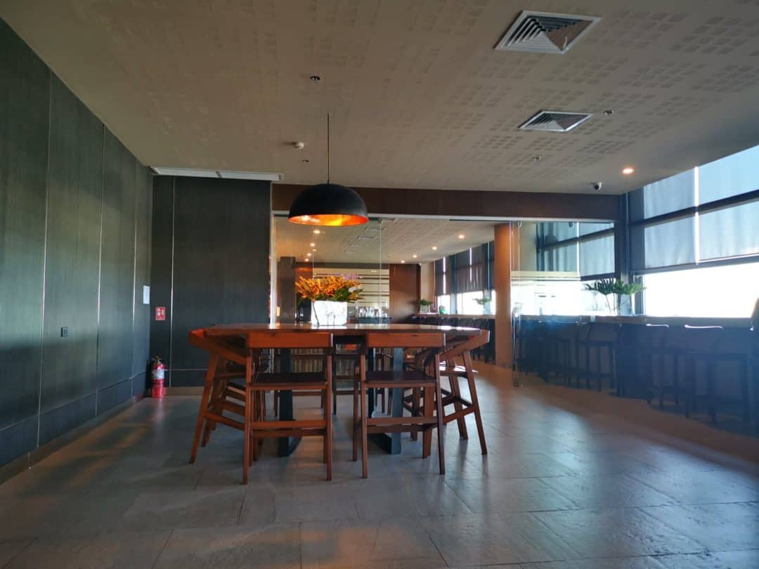 Airport lounge with Priority Pass