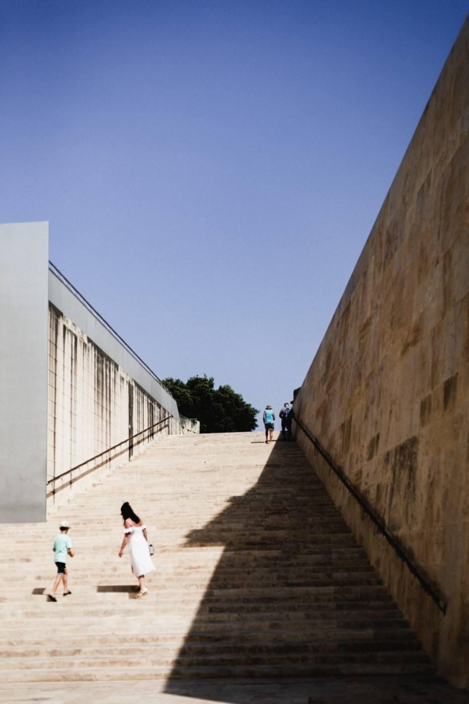 Street photography in Valletta Malta
