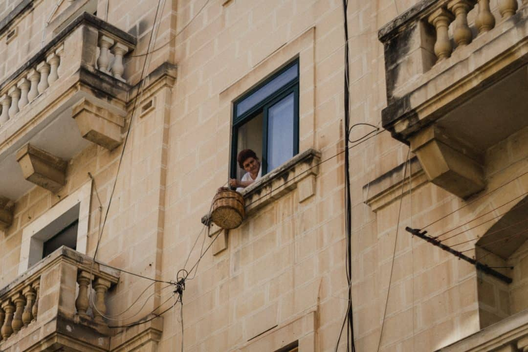 Maltese lady in Valletta