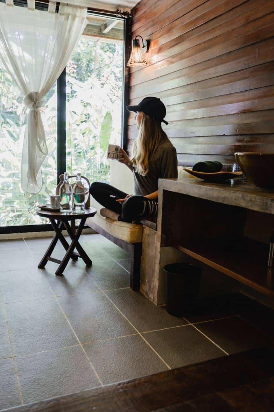 Superior room at Sukau Rainforest Lodge Borneo