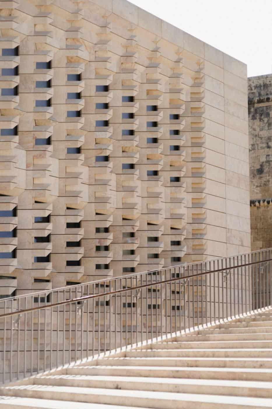 New Parliament building in Valletta Malta
