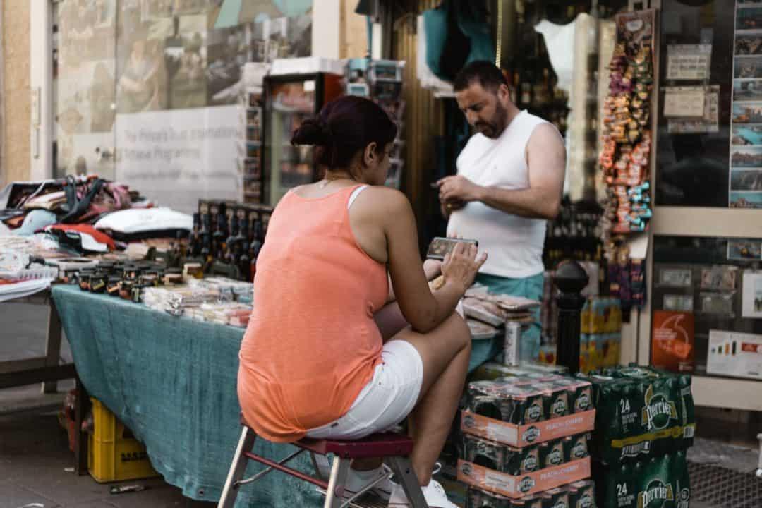 A local shop in Valletta Malta