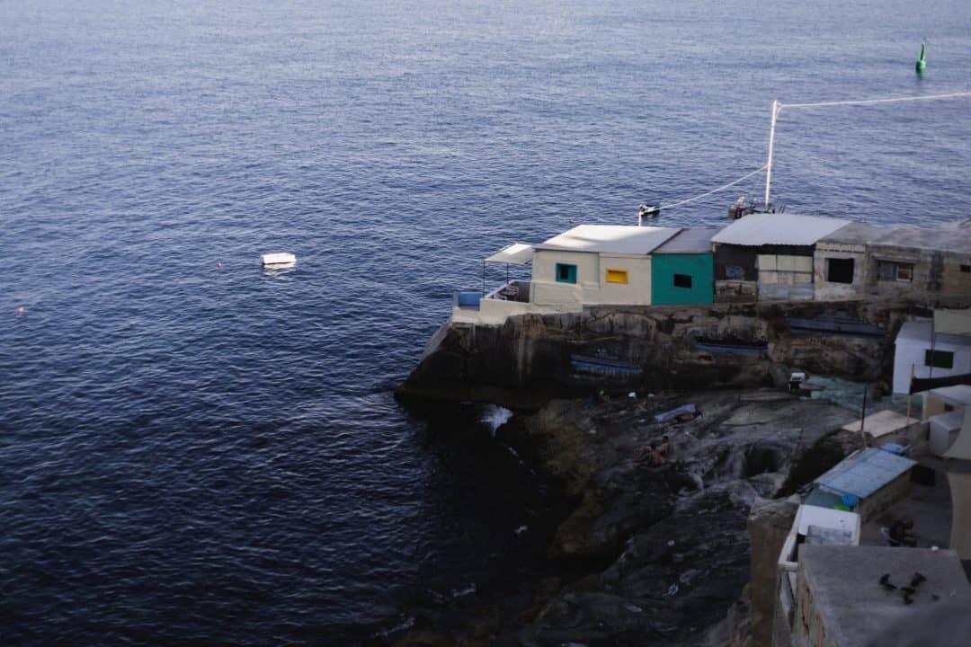 Coast of Valletta in Malta
