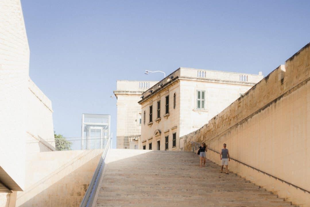 Valletta the Maltese capital city