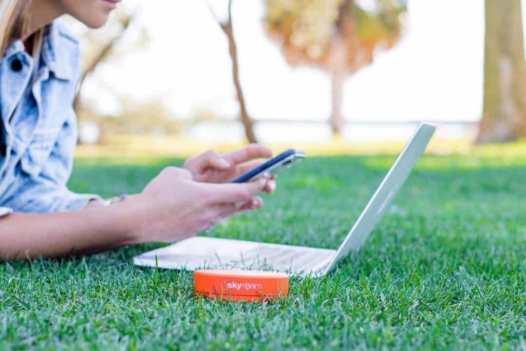 SkyRoam Solis mobile WiFi rental