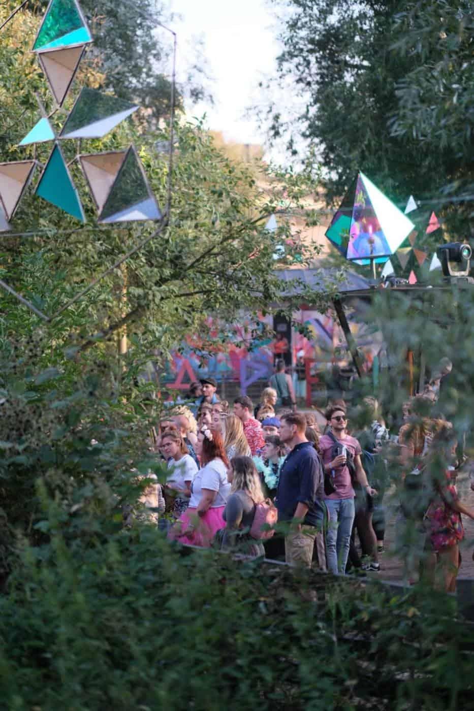 Vogelball festival in Hamburg Germany