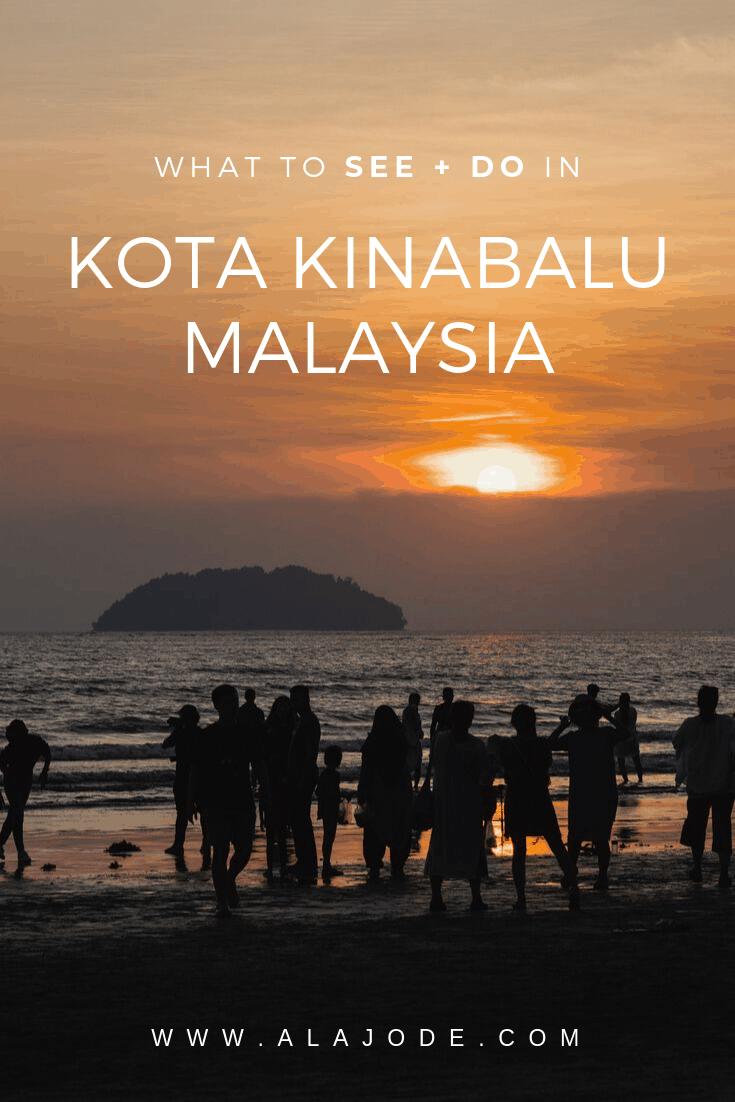 Kota Kinabalu Malaysia travel itinerary
