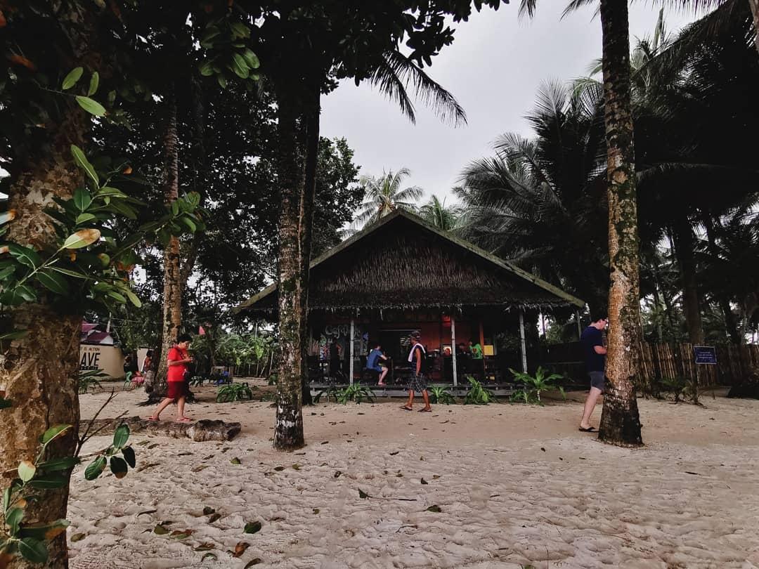 Cafe Loka near Cloud 9 wave in Siargao Philippines